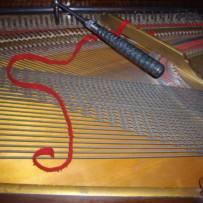 Tuning a Square Grand Piano