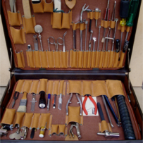Piano technician's tool kit