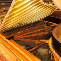 Steinway B Soundboard